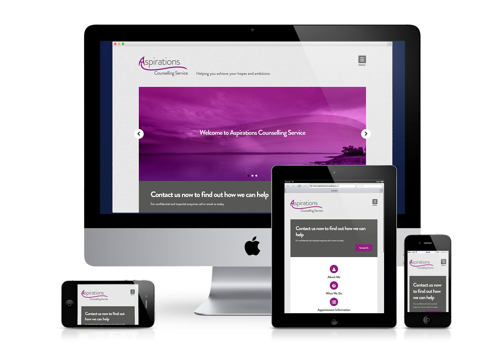 Aspirations Counselling Website
