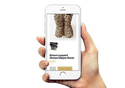 Leopard Print Collection E-commerce Website